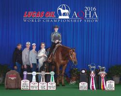PR Bert 2016 world show win