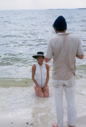 ON THE BEACH WITH BEATA SCHULZ 1969