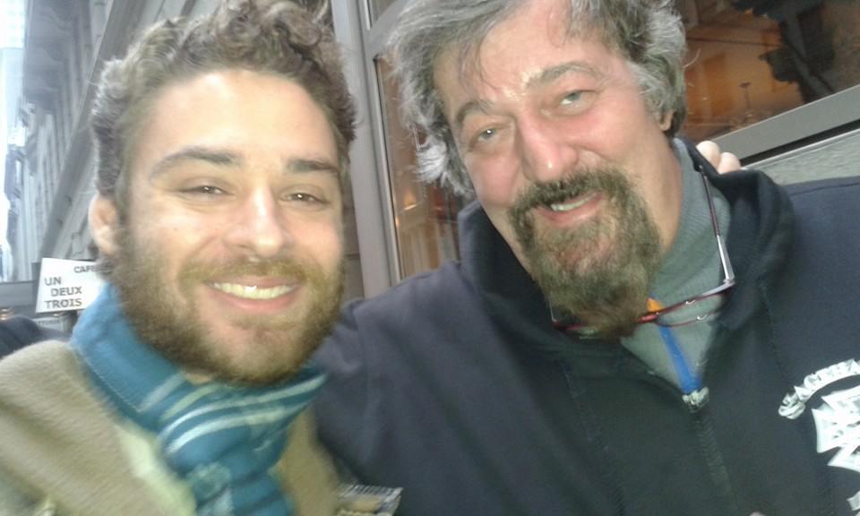 Andy Danish meets Stephen Fry