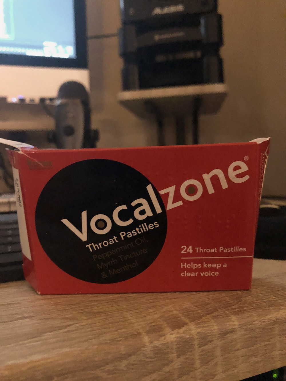Review Vocalzone Throat Pastilles - Christian Rosselli Voice Over