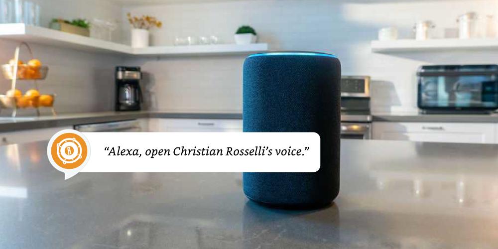 Alexa Voice Site Christian Rosselli