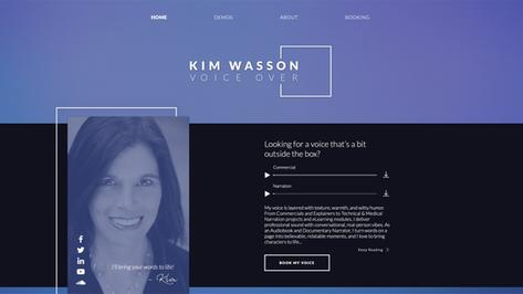 kimwassonvoice.com