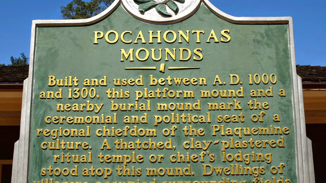 Pocahontas in Mississippi?