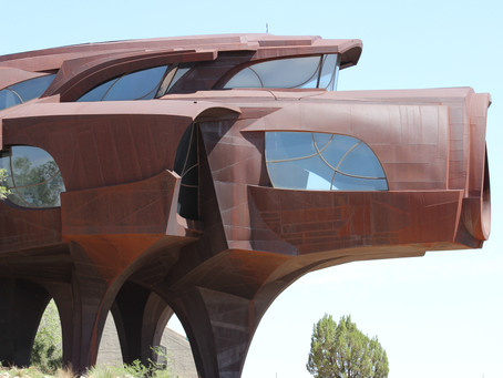 Lubbock dream house made of 110 tons of steel