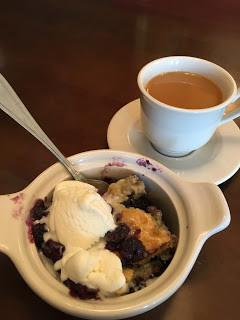 Sonker dessert from Surrey County, North Carolina.