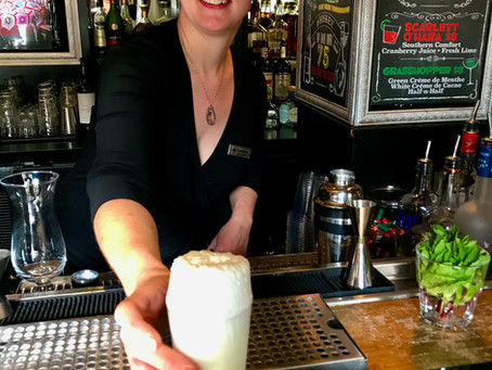 Ramos Gin Fizz — a drink that requires a workout
