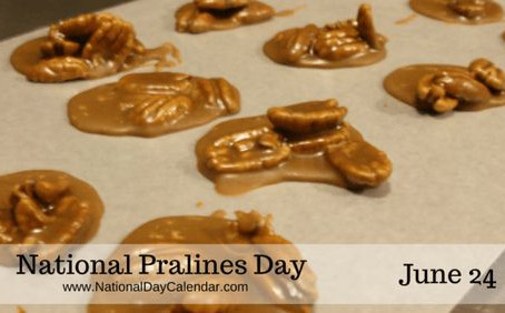 Happy Pralines Day!