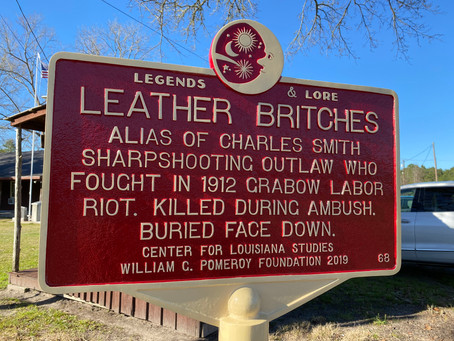 Honoring an Louisiana outlaw legend