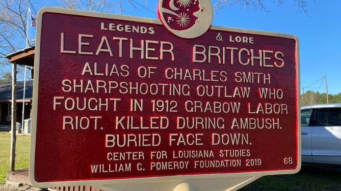 Honoring an Louisiana outlaw legend