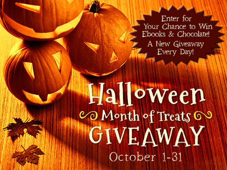 Free books, chocolate and ghosts, oh my!