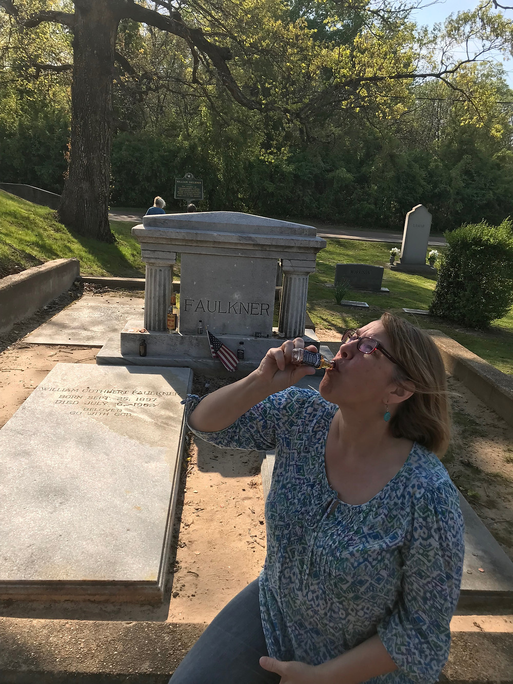 faulkners grave