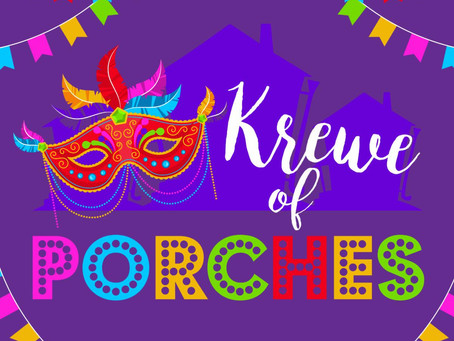 Krewe of Porches keeps Mardi Gras alive in Ocean Springs, Mississippi