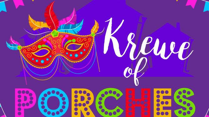 Krewe of Porches keeps Mardi Gras alive in Ocean Springs, Mississippi