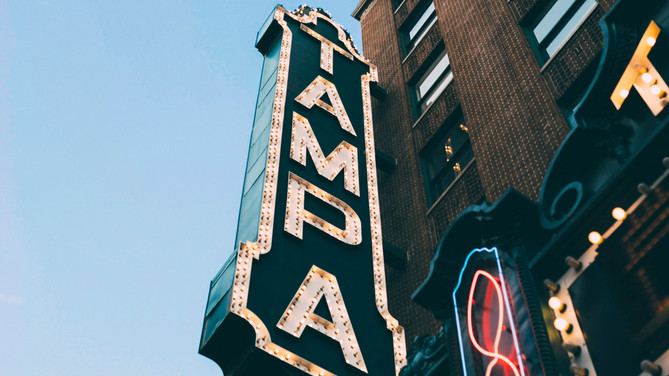 A Ghostly Show Goes on at the Tampa Theater