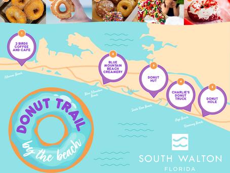 Doughnuts on the beach? Sweet!