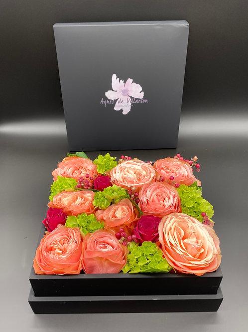 Flower box, large, 7.5x7.5