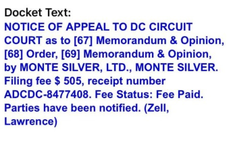 Appeal in Transition tax case