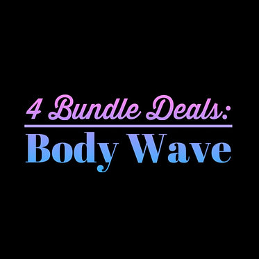 4 Bundle Deals: Joana Body Wave