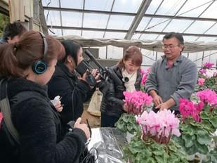 J:COMチャンネル『東葛調査隊!』地産地消シリーズに出演中!