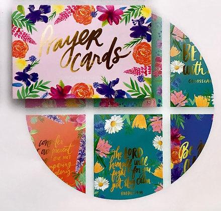 Floral Prayer Cards