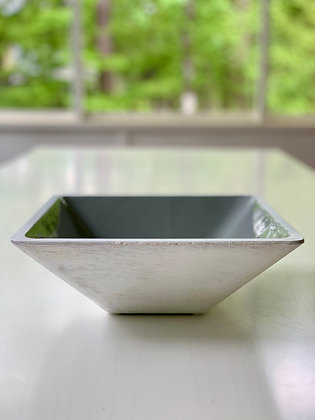 Small Square Enamel Bowl