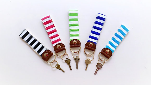 Striped Key Chain