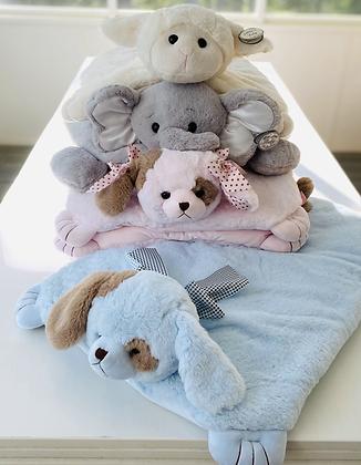 Plush Baby Belly Blanket