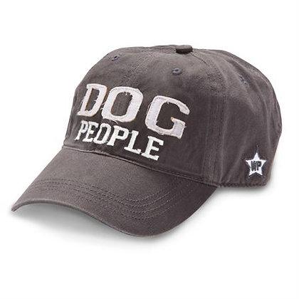 """Dog People"" - Dark Gray Adjustable Hat"