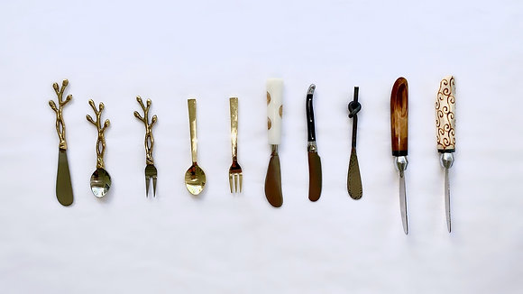 Serving Spreaders, Forks, and Spoons