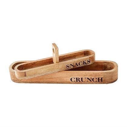 Snacks & Crunch Cracker Dish Set