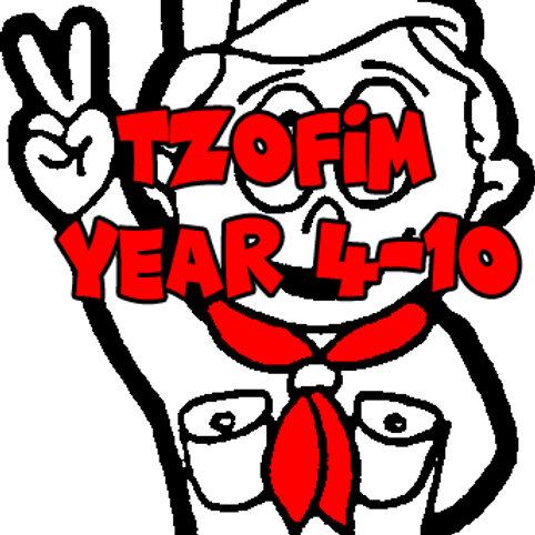 Tzofim Weekly Activity Yearly (Year 4-10)