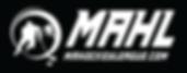logo white on black-mahockeyleague url.p