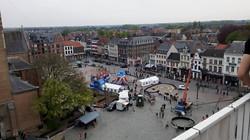 City Kickx - bovenaanzicht