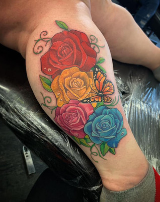 Colourful Rose's
