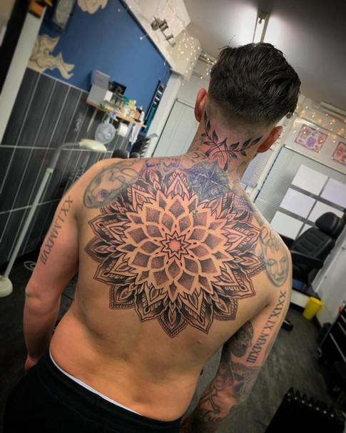 Mandala Back piece