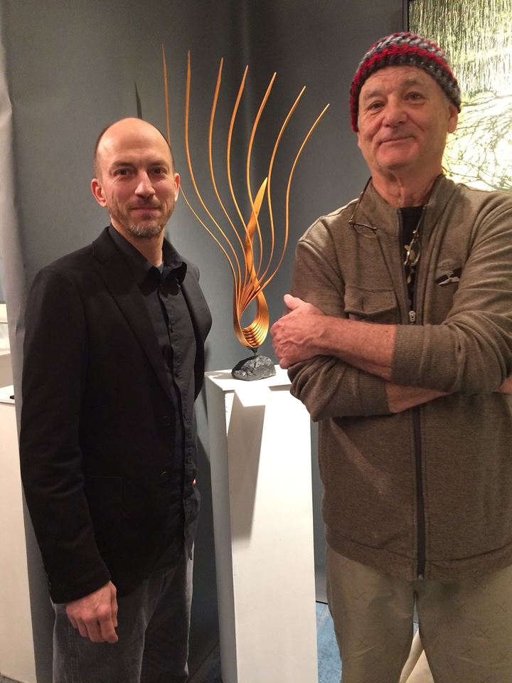 Eric Tardif and Bill Murray