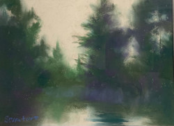 Hazy Broadkill, pastel 8x10 $300