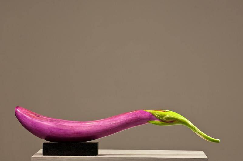 Eggplant-Kirsh, bonded marble/acrylic $450