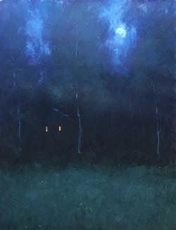 Home Lights-Sills, oil 48x36