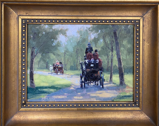 Carriage Ride, Phillips 6x8 $675
