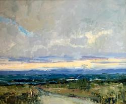 Ridge View, oil on linen panel, 20x24 $4200 SOLD