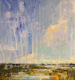Water to Sky, oil 24x30 $4300