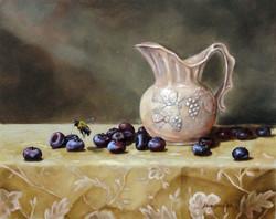 Blueberries and cream.JPG
