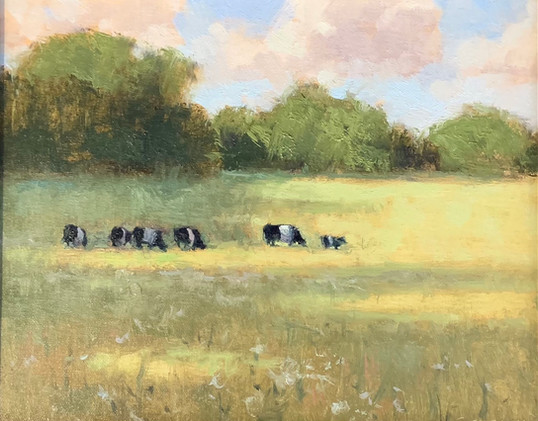 Shady Afternoon, Phillips, oil 8x10 $850