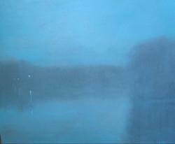 Night Mood, oil on canvas 24x18 $5600