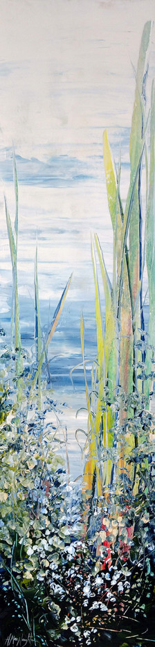 I'm Always Going To Love You, acrylic 60x15 $1295