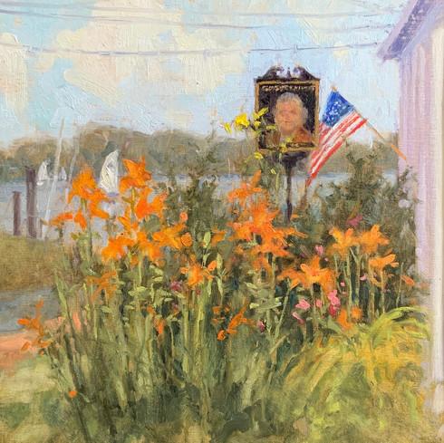 Morning Sun by Elise Phillips, oil 12 x12 $1600
