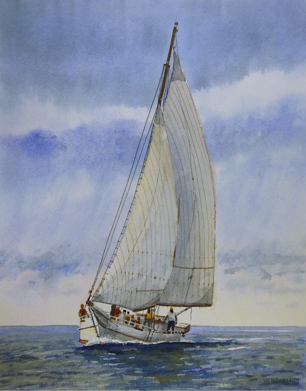 Skipjack @ Deal Island.-sold
