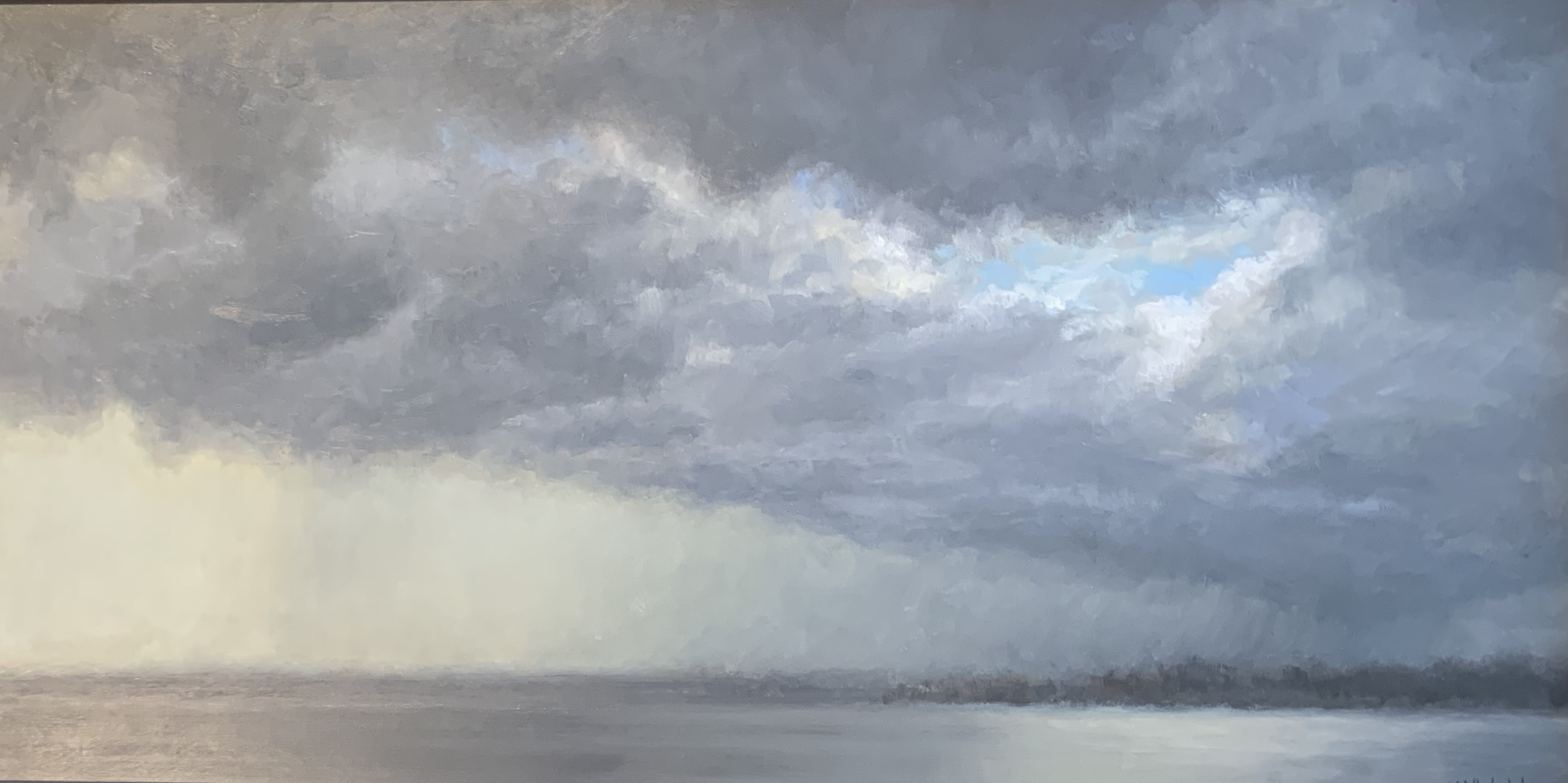 Squall Line-Walsh oil 12x24 $1900 sold