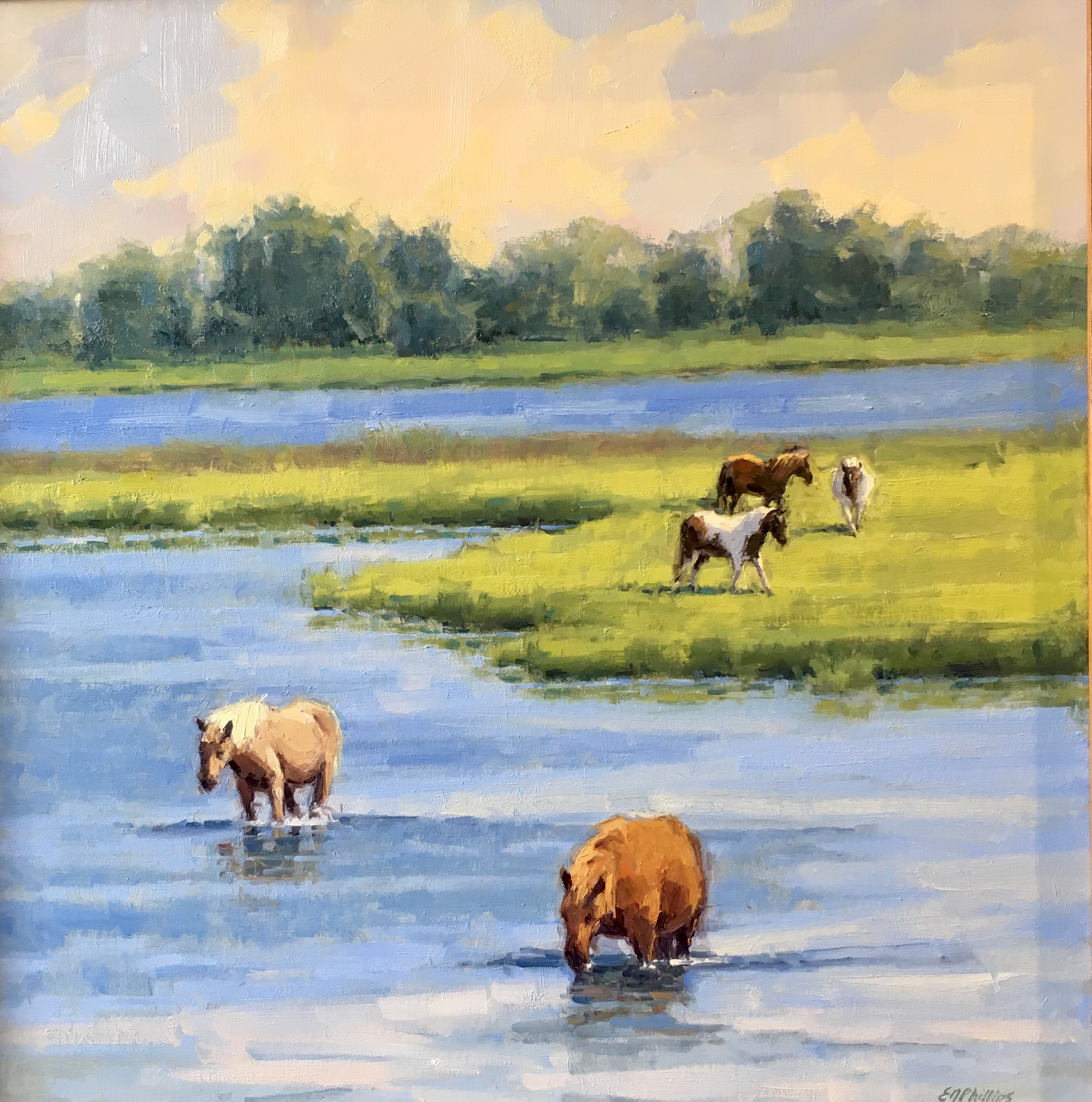 Assateague Ponies-Phillips $3200 20x20
